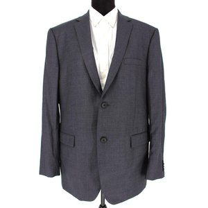Theory Charcoal Wool Karmo Suit Jacket sz mens 44R